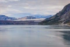 Грандиозный Тихий океан ледник Стоковые Изображения RF