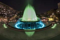 Грандиозный фонтан парка Стоковое Изображение
