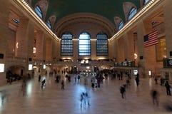 Грандиозный центральный стержень Нью-Йорк Стоковое фото RF