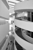 Грандиозный Hall, музей изобразительных искусств ARoS, Орхус, Дания Стоковая Фотография