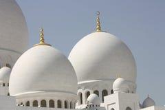 грандиозный zayed шейх мечети стоковые фото