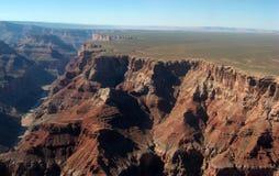 Гранд-каньон, взгляд от южного Rym Стоковая Фотография RF