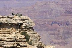 Гранд-каньон, взгляд от южной оправы, пункта Mather Стоковые Изображения RF