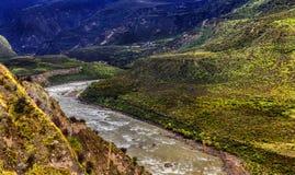 Гранд-каньон Гималаев Стоковая Фотография RF