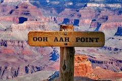 Гранд-каньон Колорадо в Аризоне Стоковое Изображение