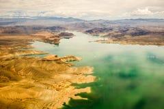 Гранд-каньон мёда озера стоковое изображение