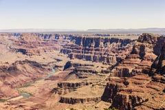 Гранд-каньон на южной оправе в национальном парке гранд-каньона Стоковая Фотография