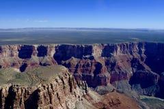 Гранд-каньон от вертолета Мэйверика в Аризоне, США Стоковые Фото