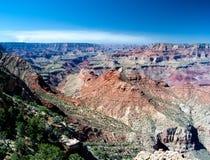 Гранд-каньон от взгляда десерта Стоковое Изображение RF