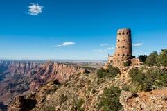 Гранд-каньон сторожевой башни взгляда пустыни, Аризона США стоковые фотографии rf