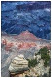 Гранд-каньон, южная оправа Стоковое Фото