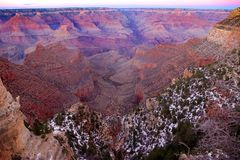 Гранд-каньон Стоковая Фотография