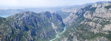 Гранд-каньон du Verdon, Франция Стоковые Фото