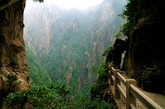 Гранд-каньон Huangshan Xihai держателя, неимоверный фарфор Стоковая Фотография RF