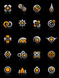 графики элементов конструкции Стоковые Изображения RF