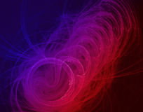 график абстрактного цвета факториальный Стоковая Фотография RF