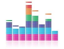 график выравнивателя Стоковое Изображение
