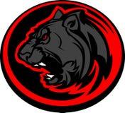 График головки талисмана пантеры Стоковое Фото