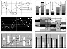 график дела Иллюстрация вектора