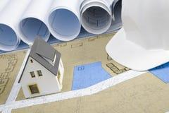 график дома новый стоковые изображения rf