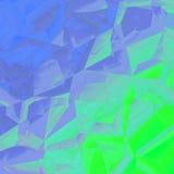 График дизайна предпосылки конспекта голубого зеленого цвета геометрический иллюстрация штока