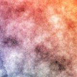 График дизайна предпосылки оранжевого голубого влияния текстуры картины акварели красивый иллюстрация вектора