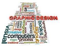 график конструкции 3d Стоковое Фото