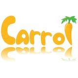 график моркови Стоковое Изображение RF