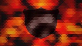 График полигона битника Стоковое Изображение