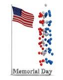 График рогульки Дня памяти погибших в войнах Стоковое Фото