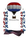 График рогульки Дня памяти погибших в войнах Стоковая Фотография
