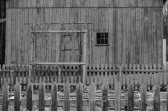 График сада старым амбаром Стоковые Фотографии RF
