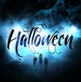 График хеллоуина Стоковые Изображения
