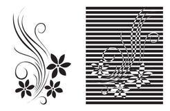 график цветка декора Стоковые Фото