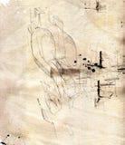 график 05 элементов Стоковая Фотография