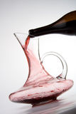 графинчик красное вино Стоковое Изображение RF