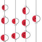 Графическая абстрактная картина оформления Стоковые Изображения RF
