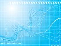 графическая волна Стоковое Изображение RF