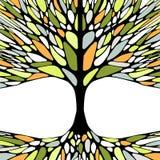 Графическая иллюстрация с treе весны Стоковые Фото