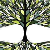 Графическая иллюстрация с treе лета Стоковая Фотография