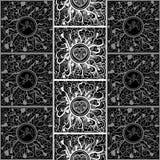 Графическая текстура с абстрактным орнаментом 29 Стоковая Фотография RF