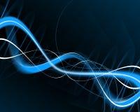графические волны синуса Стоковые Изображения