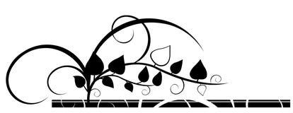 графические листья Стоковое Изображение RF