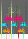 графические пальмы Стоковые Изображения RF