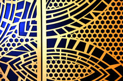 Графический абстрактный дизайн Стоковая Фотография RF