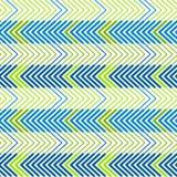 Графический зигзаг выравнивает безшовную предпосылку картины Стоковые Фото