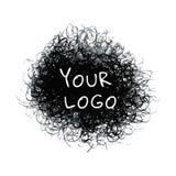 Графический значок логотипа Стоковое Фото