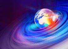 Графический мир background3 цифров Стоковая Фотография