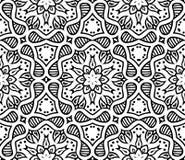 Графический морокканский орнамент в векторе Стоковые Изображения RF