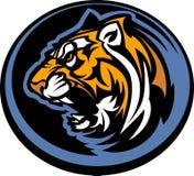 графический тигр талисмана Стоковые Изображения